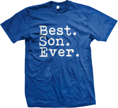 Best Son Ever Family Birthday Gift Holiday Christmas Present Idea Mens T-shirt