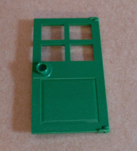 Lego grüne Tür Door grün green ca 5,2 cm Haus Stadt City Town Zubehör Neu