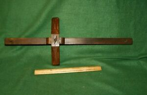 Details About Fine Antique Craftsman Made Carpenters Woodworking Marking Gauge Scribe Inv Pj10
