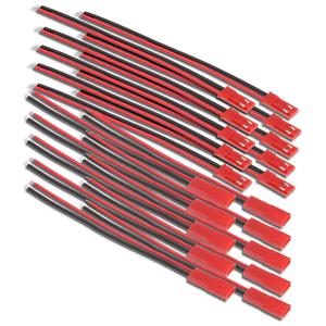 JST-BEC-Stecker-10cm-15cm-20cm-LED-Kabel-Lipo-Akku-20AWG-1-2-3-4-5-10-20-50-Paar