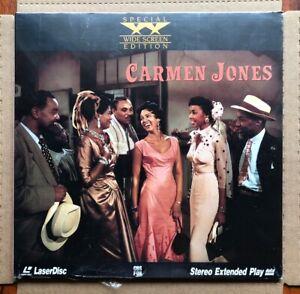 Carmen-Jones-LASERDISC-1954-Belafonte-1982-New-SEALED-Hammerstein