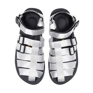 d22b3dfd4aa Image is loading Mastermind-Japan-Suicoke-Sandals-White-SS16-SMMFSA02-621N-