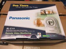PANASONIC BL-C111 Pan-tilt NETWORK IP RJ-45 Security CCTV Camera INDOOR NEW NEU