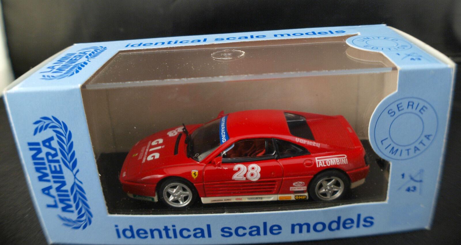 La Mini Minera 9328 ◊ Ferrari 348 Challenge 93'C.Cianfoni ◊1 43 boxed  boîte MIB