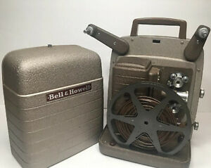 Vintage-Bell-amp-Howell-253R-8mm-Movie-Projector-tested-Working
