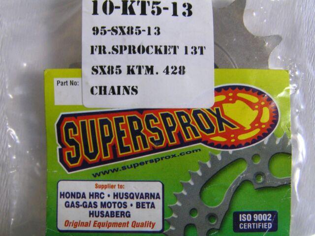 SUPERSPROX  HUSQVARNA KTM FRONT SPROCKET 13T KT5-13