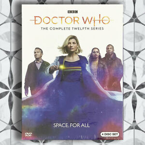 Doctor-Who-Season-12-DVD-2020-3-Disc-Set-Brand-New-Fast-shipping-US-Seller