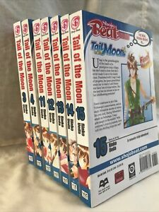 Lot of 7 Shojo Beat Manga Tail of the Moon Vol. 3,4,11-15 / English Comic