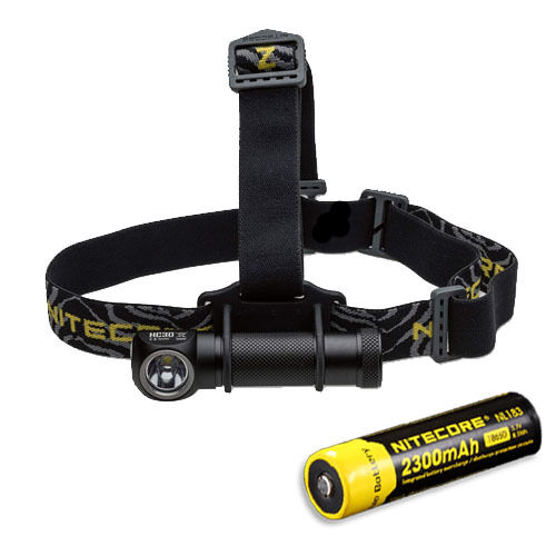 Nitecore HC30 1000 Lumen Headlamp XM-L2 LED w NL183  2300mAh Battery  incredible discounts