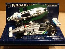 Minichamps 1:43 Alan Jones Williams FW07B # 27 F1 race car with engine 1980