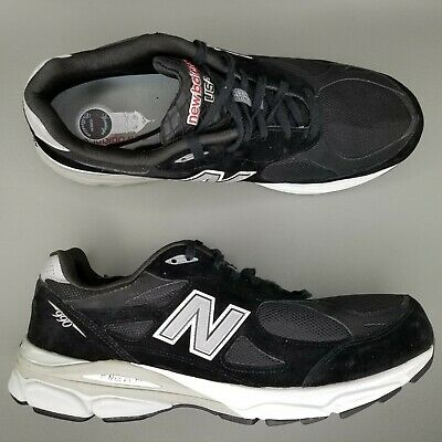 the best attitude 89d8c 2749a New Balance 990 Suede Running Shoes Mens Size 15 4E Extra Wide Made In USA  Black 886350647467 | eBay