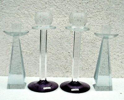 Kosta Boda Vier Kerzenleuchter Kataloge Werden Auf Anfrage Verschickt