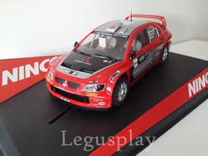Scx-Scalextric-Slot-Ninco-50394-Mitsubishi-Lancer-WRC-034-Showcar-039-05-034