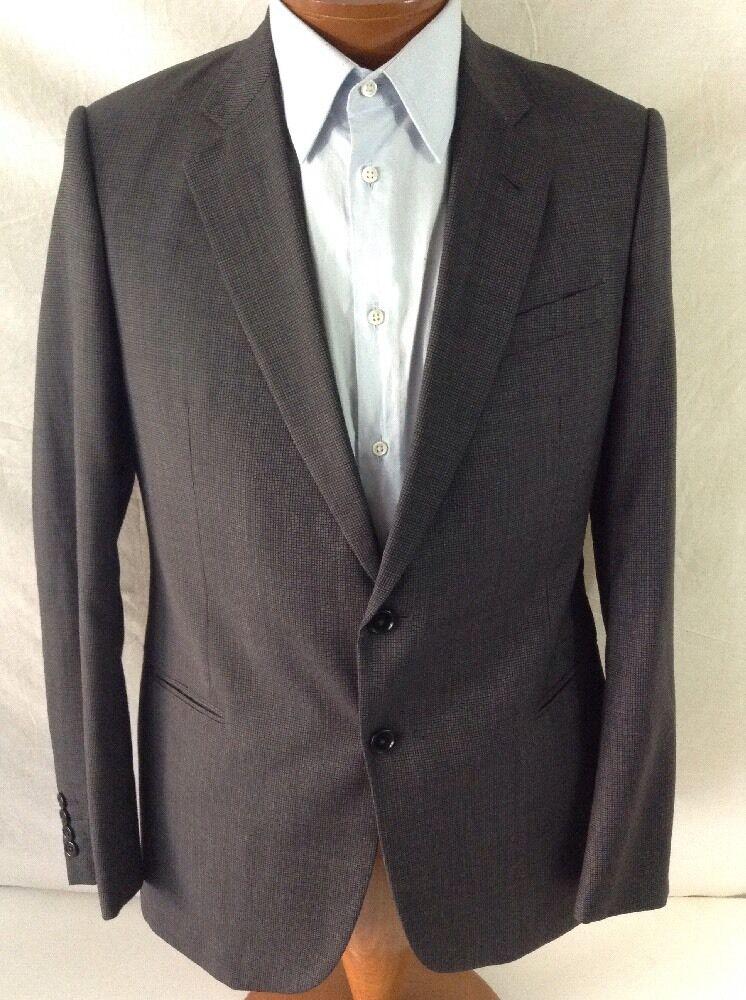ARMANI Collezioni Dk. grau Wool 2-BT Suit 40R/W34 EU 50R SALE SALE