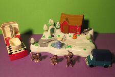 Polly Pocket Mini Disney ♥ Süße 101 Dalmatiner Spielwelt ♥ 100% Komplett ♥
