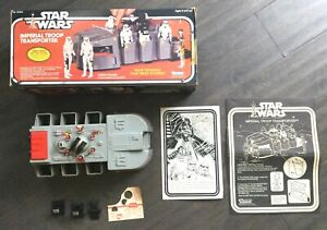 Star Wars IMPERIAL TROOP TRANSPORTER - Vintage 1979 Kenner - With Box & Papers