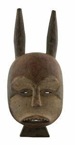 Maschera Nigeria Igala Diego Arte Africano Tribale Etnico Primitivo 17066