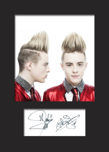 FREE DELIVERY JEDWARD #2 A5 Signed Mounted Photo Print