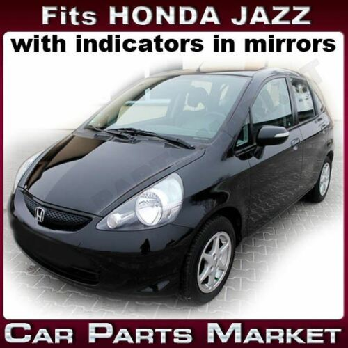 Right side Wide Angle Wing door mirror glass for Honda Jazz 2005-2008 heat