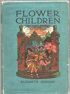 FLOWER-CHILDREN-by-ELIZABETH-GORDON-Wise-Parslow-HC-1910-Reprint-HC