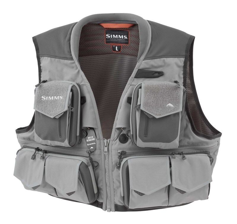 New Simms g3 guede Vest 100% cordura fishing normal Price 299eur Save 85eur