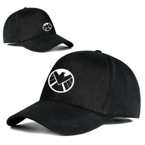 Image is loading New-Arrivals-Agents-of-S-H-I-E-L-D-Logo-Hat-Baseball- 6369b58934e