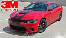 N Charge Rally Fits 2015 2021 Dodge Charger Racing Stripes Srt Gt Graphic Decals