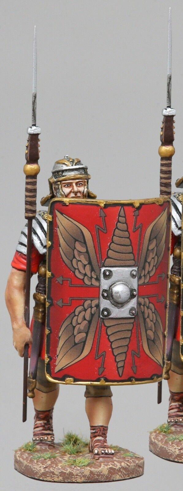 THOMAS GUNN ROMAN EMPIRE ROM005A LEGIONNAIRE WITH PILUM RAISED RED SHIELD MIB