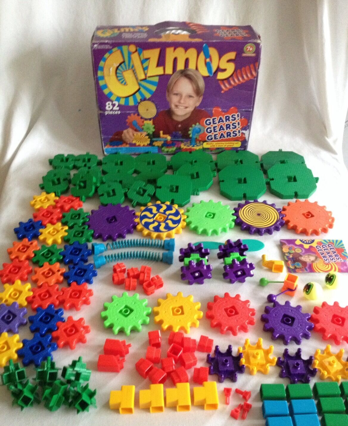 Gears  Gears  Gears  Gizmos Complete & More 121 Pieces Learning Resources
