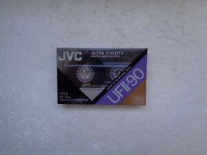 Vintage-audio-cassette-jvc-ufii-90-rare-from-switzerland-1990