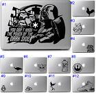 Apple Macbook Air Pro Laptop Vinyl Decal Sticker Cute Cool Fun Star Wars Graphic