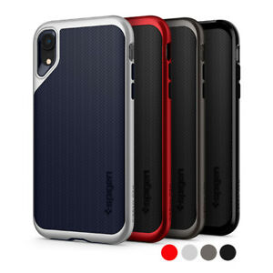 meet 21f06 ae570 Details about iPhone XR | Spigen® [Neo Hybrid] Dual Layer TPU Protective  Shockproof Case Cover