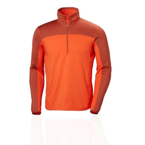 Helly Hansen Homme Phantom Demi Zip 2.0 Haut orange SPORT plein air chaud