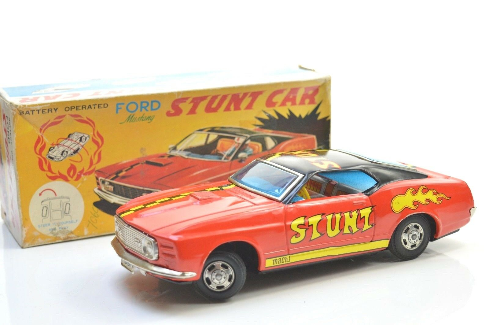 TRS JAPAN FORD MUSTANG STUNT CAR