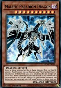 NM Ultra rare 1st ed BLAR-EN019 3x Malefic Paradigm Dragon