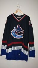 Vancouver Canucks TEAM ISSUED 3RD (ORCA) NHL Jersey (Blank) -RARE- Great Gift!