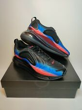 "Nike Air Max 720 ""Black Racer Blue"" AO2924-017 Men's Size 10.5 Running Shoes"