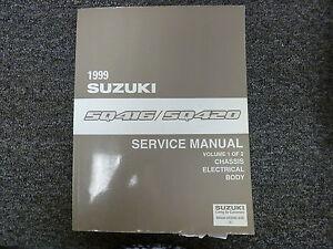 1999 suzuki grand vitara sq416 sq420 chassis electric body service rh ebay com 1999 Grand Vitara Custom Grand Vitara Maroon 1999