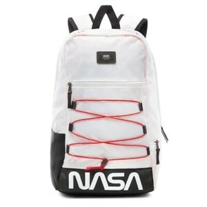 Details about Vans x NASA Snag Plus Backpack Space White Limited Edition Rare New VN0A3HM3XH9