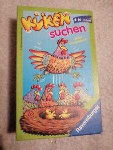 Kueken-suchen-4-10-j-Ravensburger-Spiel-vollstaendig-gebraucht-guter-zustand