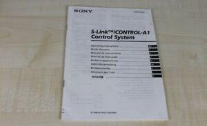 Sony-S-Link-Control-A1-Control-System-Bedienungsanleitung-mehrsprachig