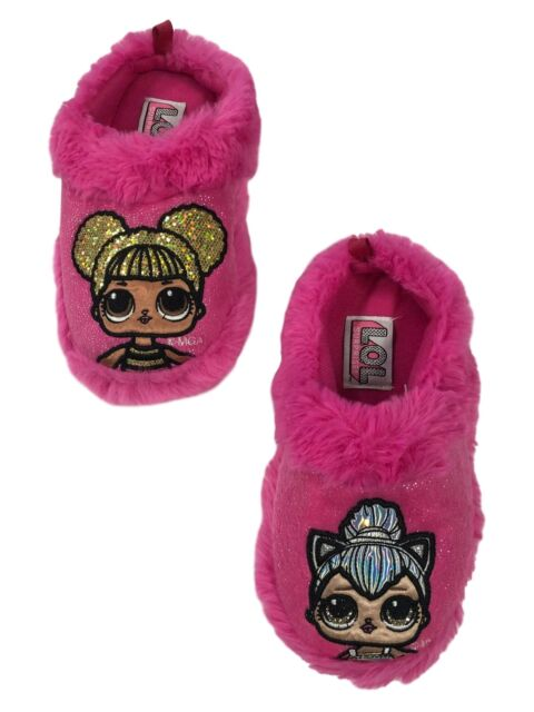LOL Surprise Girls Doll Slippers Size