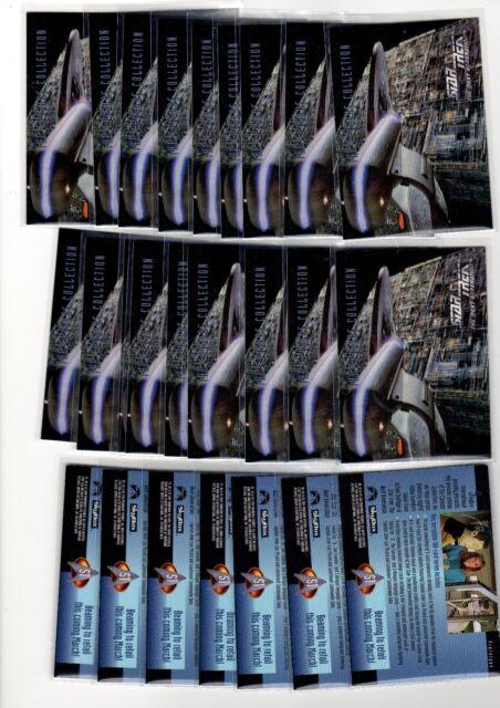 Bulk Lot available Next Generation SEASON 4 Skybox 1X 1994 STAR TREK TNG PACK