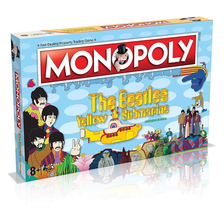 The Beatles Yellow Submarine Monopoly