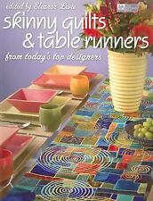 Quilt Pattern Book, SKINNY QUILTS & TABLE RUNNERS, from today's top designers