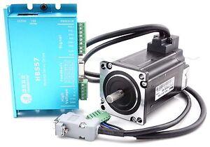 CNC-Leadshine-Closed-Loop-Hybrid-Servo-Drive-Kit-HBS57-Driver-Motor-encoder