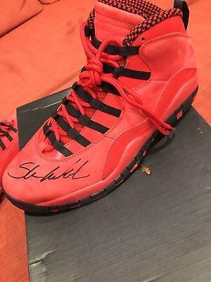 ab77439e7fae18 Jordan air retro 10 With Steve Wiebe s Signature