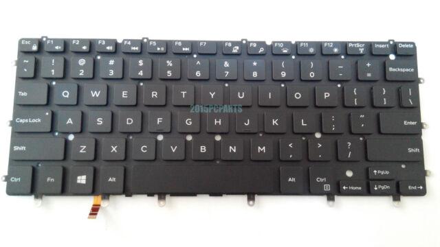 New for Dell XPS 13 9343 13 9350 13 9360 Keyboard US Backlit DKDXH