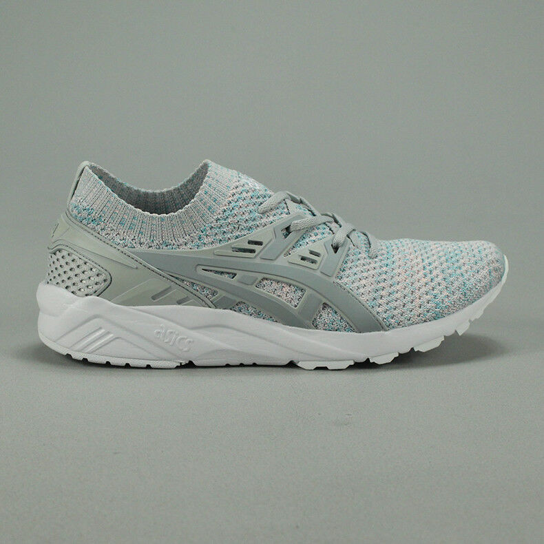 Asics Gel Kayano Knit shoes – Glacier Grey   Mid Grey new in box UK Size 7,8,10