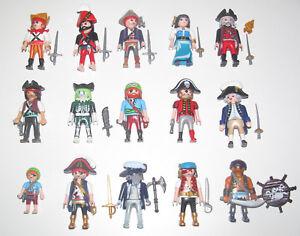 Playmobil-Figurine-Personnage-Pirate-Accessoires-Modele-au-Choix-NEW